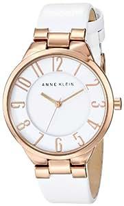 Anne Klein Women's AK/1618RGWT Easy-to-Read Dial Watch