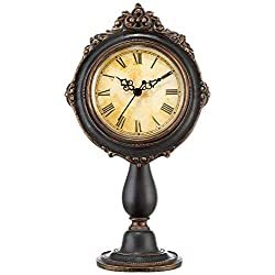 Kensington Hill Dailey Brown Traditional Table Clock