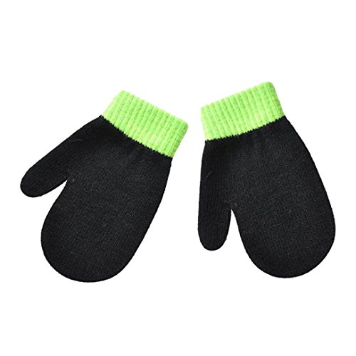 Sharemen Newborn Infant Toddler Boys Girls No Scratch Mittens Winter Warm Gloves