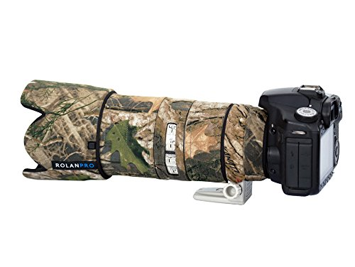 Rolanpro 10 Color Lens Clothing Camouflage Rain Cover for Canon EF 70-200mm f/2.8 L IS II USM Lens Protection Sleeve