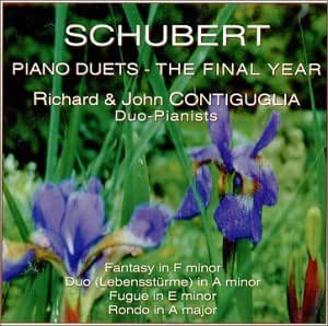 SCHUBERT Piano Duets - The Final Year