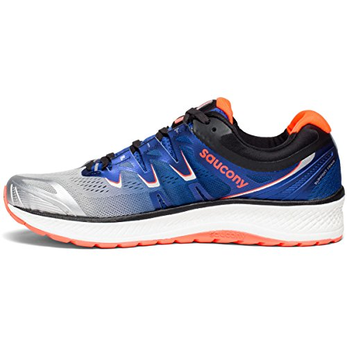 Saucony 4 Blue Vizi Shoe Iso Red Running Silver Men's Triumph Sq6rSf