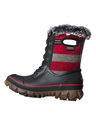 Bogs Outdoor Boots Womens Arcata Stripe Wool 11 M Red Multi 72105 by Bogs