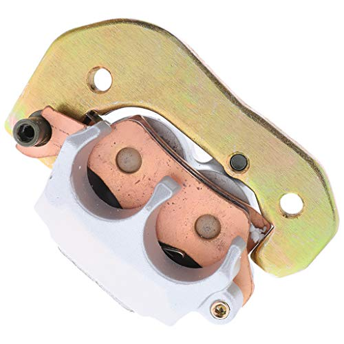 Perfeclan Silver Rear Brake Caliper Assembly Brake Master Cylinder Booster for Motorcross, Strong Corrosion Resistance: