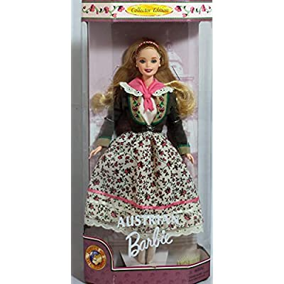 Barbie Dolls of the World Collector Edition Austrian Barbie (1998): Toys & Games