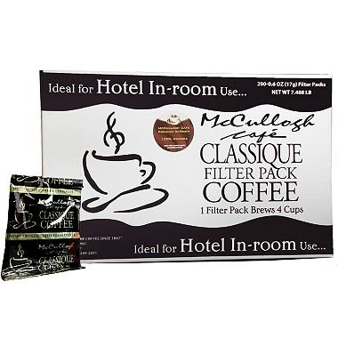 McCullagh Café Classique Premium Blend Coffee (200 ct.)- 2 PACKS