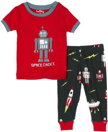 Hatley PJGETPH003 Robot Pajama Set