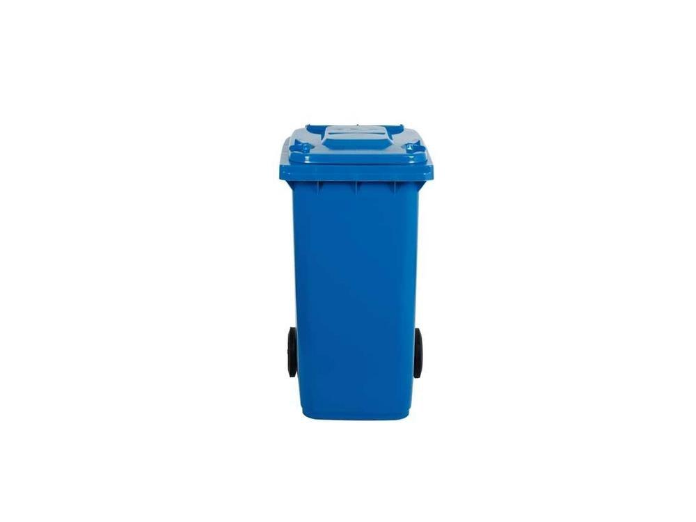 Bidone raccolta differenziata 120 litri, carrellato colore BLU. Bidoni raccol... MOBIL PLASTIC