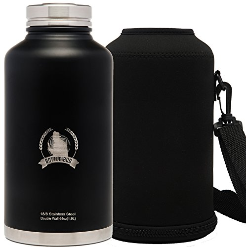 growler-by-bottle-bud-stainless-steel-growler-water-bottle-64oz-carry-bag-double-wall-sweatproof-vac