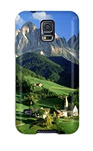 Mae Araujo Slim Fit Tpu Protector CCIXatt11990QioXU Shock Absorbent Bumper Case For Galaxy S5