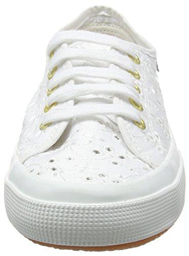 Sneaker Damen Weiß SANGALLOSATINW 2750 Superga qEBwxZtT