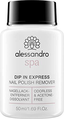 Spa Dip In Express Nagellackentferner - Geruchlos und ohne Aceton, 50 ml