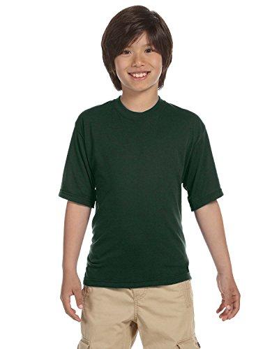 Jerzees boys JERZEES SPORT T-Shirt(21B)-FOREST GREEN-S