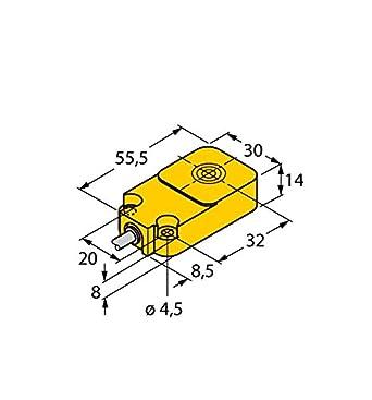 1534602 - BI10 de Q14 de liu, sensor inductivo con salida análoga: Amazon.es: Industria, empresas y ciencia