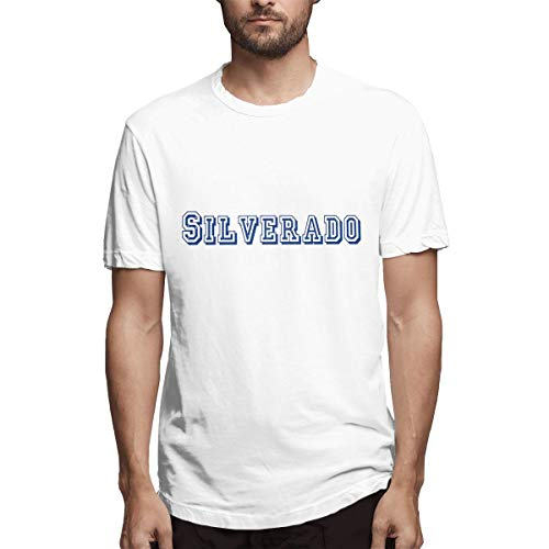 Chevrolet Silverado Logo Men's Short Sleeve Shirts T Shirts Tees