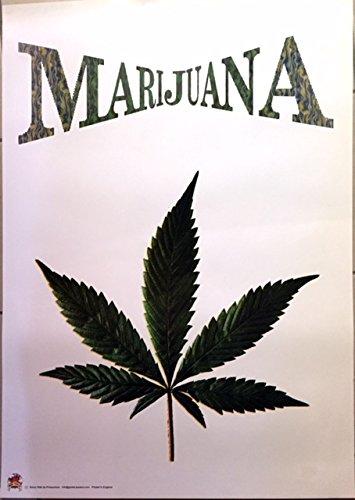 Marijuana Cannabis, 60 x 80 Cm, diseño de cartel-Póster ...