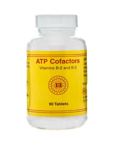 Optimox - ATP Cofactors, Support Energy Production with Vitamins B2, B3, and Magnesium, 90 Tablets