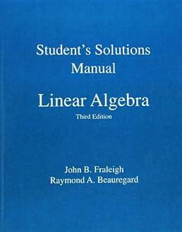 Solution manual uk array student solution manual for linear algebra amazon co uk john b rh amazon co fandeluxe Images