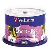 VER95136 - Inkjet Printable DVDR Discs
