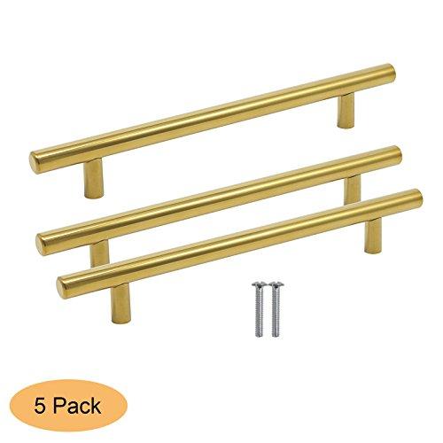 door handle cabinet gold color - 2