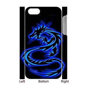 iphone4 Phone Case White Dragon tribal WQ5RT7442790