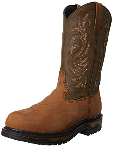 Laredo Distrs Shoe Toed Tan Work Men's Steel Hammer SR01wSqr