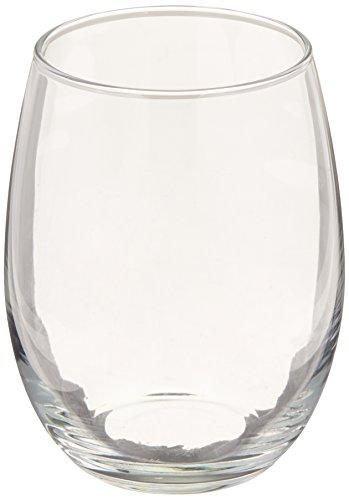 luminarc perfection stemless wine glass set of 12 15 oz clear - Bulk Wine Glasses
