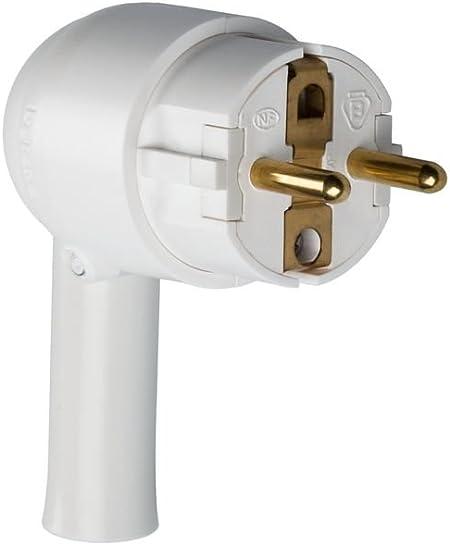 T 16 A à Orientation du Câble Câble 3 x 1,5 Legrand LEG50173 Fiche mâle 2P