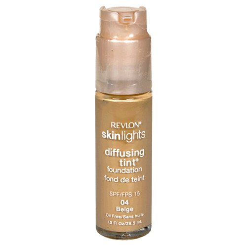 Revlon SkinLights Diffusing Tint Foundation, SPF 15, Beige 04, 1 Fluid Ounce (29.5 ml)
