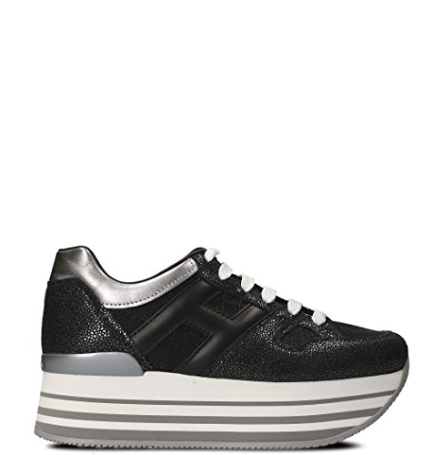 Hogan Women Hxw2830u352iji019u Sneakers In Pelle Nera
