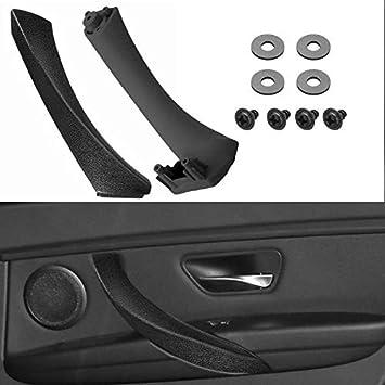 LnNcWcD Panel de la Puerta Frontal Interior 2pcs Derecho Lado Izquierdo Tirador de Ajuste Cubierta//Serie Fit for BMW E90 E91 3 Coche Accesorios Interior Color : Beige Left