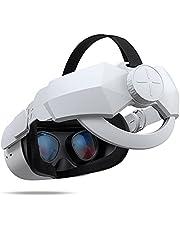 KIWISMART Elite-riem voor Oculus Quest 2-accessoires, verstelbare hoofdriemvervanging met hoofdkussen