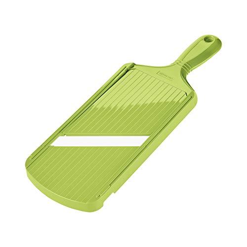 """Kyocera CSN-202-GR Slicer Ceramic Mandoline, 11"""" x 4"""", Green"""