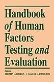 Handbook of Human Factors Testing and Evaluation 9780805817256