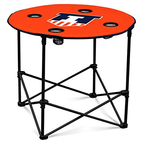 Illinois Fighting Illini Collapsible Round Table with ()