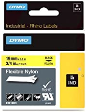 DYMO 19mm Flexible Nylon Tape - Cintas para impresoras de etiquetas (D1, Nylon, Bélgica, Caja)