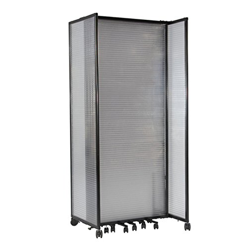 Versare Polycarbonate Indoor Outdoor Mobile Folding Room Divider 8 5w Ft In The Uae See