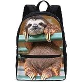 af66ac351b74 Amazon.com | 3D - Sloth Wearing Fower Crown - My Spirit Animal ...