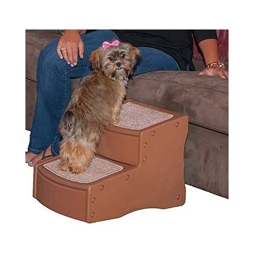 Pet Gear Easy Step II Pet Stairs, 2-step/for Cats and Dogs up to 75-pounds