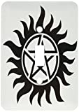 3dRose lsp_193333_1 Supernatural Symbol, Light Switch Cover