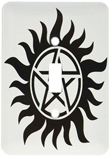 3dRose lsp_193333_1 Supernatural Symbol, Light Switch Cover (Switch Symbol)
