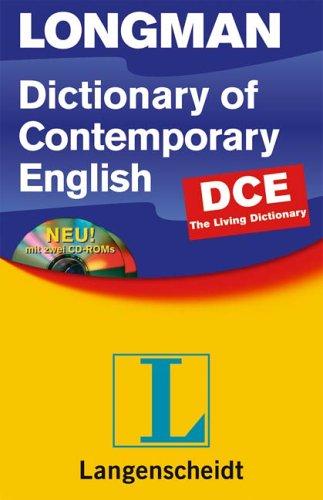 Longman Dictionary of Contemporary English (DCE), kartoniert m. 2 CD-ROMs