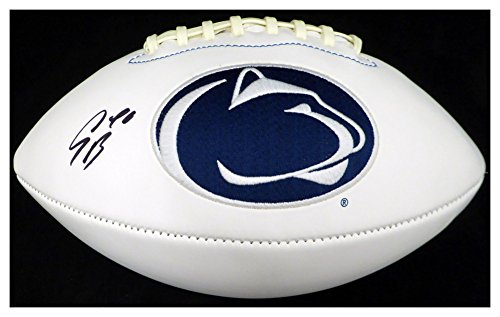 - Saquon Barkley Autographed Signed Penn State Nittany Lions White Logo Football - Beckett Authentic