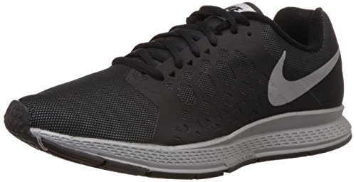 Nike Mens Zoom Pegasus 31 Flash Running Shoe Black/Reflect Silver HpHy1142A