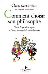 Comment choisir son philosophe par Ali Magoudi