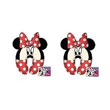Minnie Mouse kids Neck Pillow with Bonus Autograph Book x 2 Set by Disney