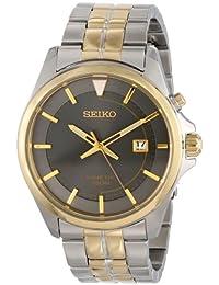 Seiko Men's SKA582 Stainless Steel Two-Tone Watch