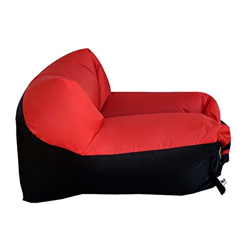 WooHoo 2.0 Giant Inflatable Lounger Chair with Carry Bag. Inflates in Seconds. Hangout as Lounge Chair, Bean Bag, Air Ha