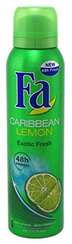 Fa 24 Hour Active Deodorant and Antiperspirant Caribbean Lemon Spray - 5 Oz ()