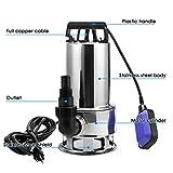 Homdox Sump Pump Water Pump